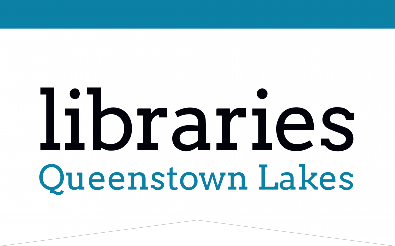 QLDC Libraries Queenstown Lakes Logo