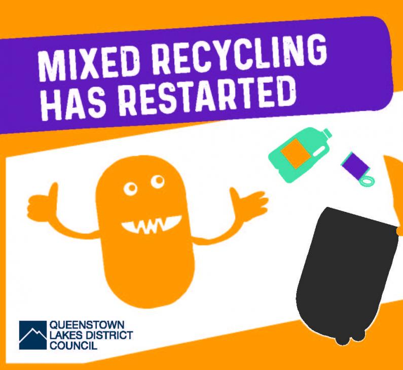 QLDC mixed recycyling AW